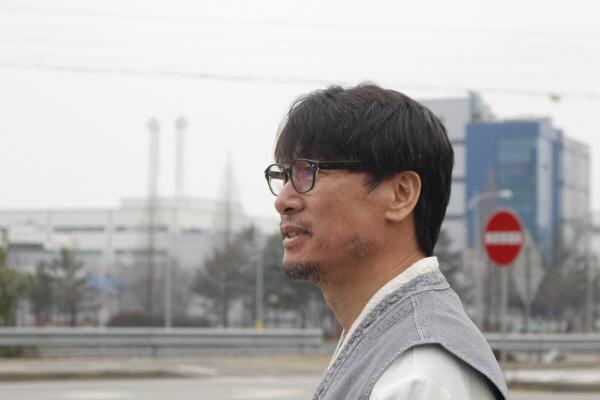 쌍용자동차지부 김득중 지부장 ㅣ 김한주 기자