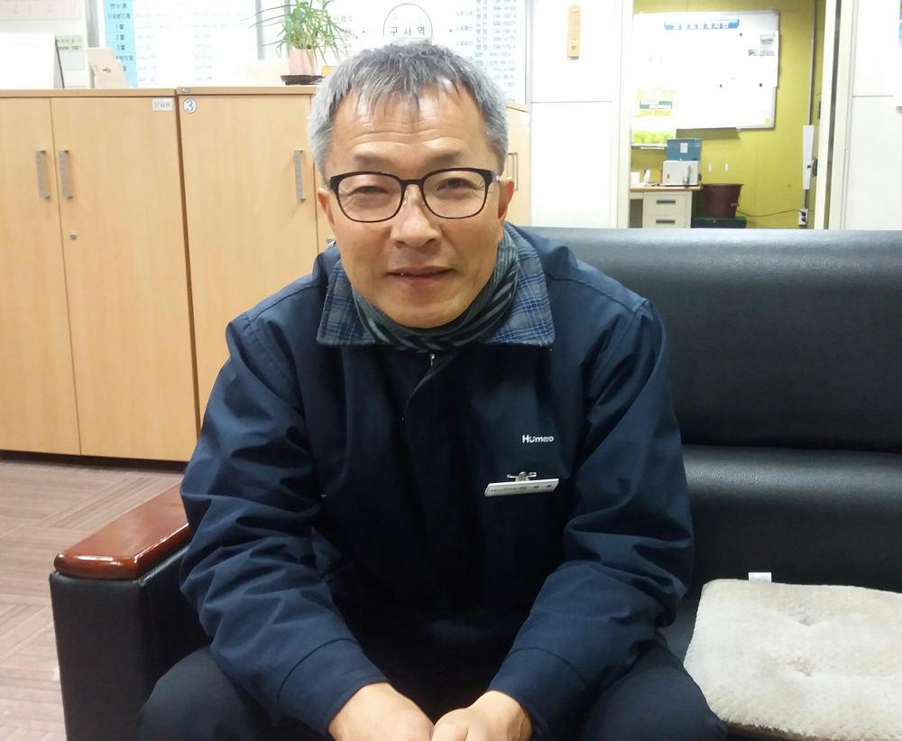 이영호 부산지하철노조 조합원 [출처: 이정호]