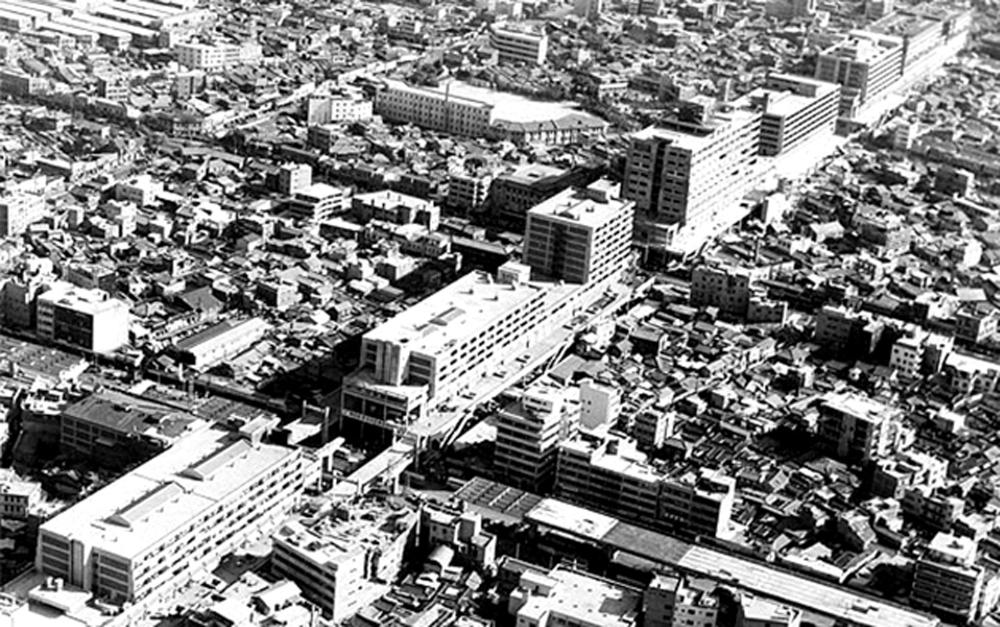 1968년 세운상가 모습(서울역사박물관 소장) [출처: 서울시]